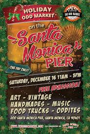 Odd Market Holiday Show On The Pier | Santa Monica Commission Moves To Legalize Regulate Food Trucks Santa Monica Global Street Food Event With Evan Kleiman In Trucks Threepointsparks Blog Private Ding Arepas Truck In La Fast Stock Photos Images Alamy Best Los Angeles Location Of Burger Lounge The Original Grassfed Presenting The Extra Crispy And Splenda Naturals Truck Tour Despite High Fees Competion From Vendors Dannys Tacos A Photo On Flickriver