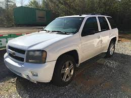 USED 2007 CHEVROLET TRAILBLAZER 4X4 2WD SUV FOR SALE IN AL #2996