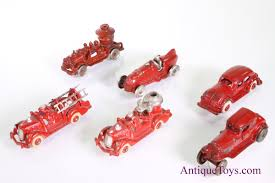 100 Trucks And Toys Red Cast Iron Toy And Cars For Sale Sold Antique For