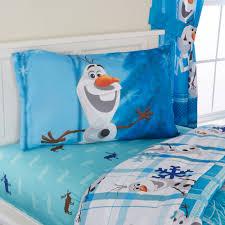 Frozen Bathroom Set Walmart by Disney U0027s Frozen Olaf Reversible Bed In A Bag 5 Piece Bedding Set