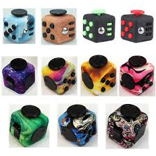 Image Is Loading Fidget Cube A Vinyl Desk Toy Adults Stress