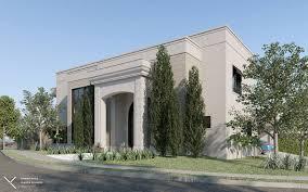 Neoclassical House Kaza 3d Neoclassical House