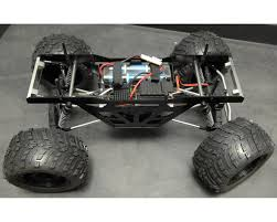 100 Truck Chassis ST Racing Concepts Wraith Izilla Monster Conversion Kit Black