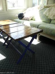 Upcycled Crate Coffee Table Thumb1
