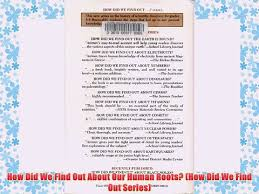 PDF How Did We Find Out About Our Human Roots Series Full Online