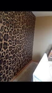 fabulous diy cheetah print walls and best 25 cheetah bedroom ideas