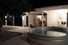 interesting tub idea galvanized horse trough backyard