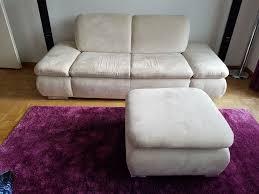 2er sofa mit sessel beige weiss kaufen auf ricardo