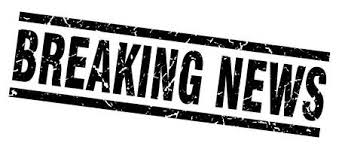 Square Grunge Black Breaking News Stamp Royalty Free Cliparts