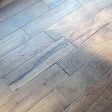 how to install wood look floor tile