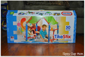Little Tikes TikeStix Clubhouse Review & Giveaway - Sippy Cup Mom