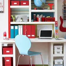 Smart Study Area In Teenage Boys Room