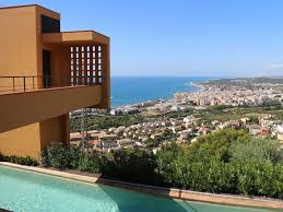 100 Architectural Masterpiece VILLA DUMAS ARCHITECTURAL MASTERPIECE HEATED POOL AND FABULOUS SEA VIEW Sitges