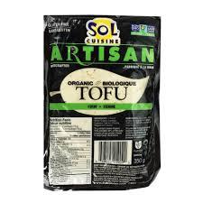cuisine sol sol cuisine organic firm tofu 350g vegansupply ca