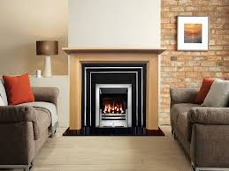 Buy Online Hamilton Polished Higlighted Cast Iron Fireplace Insert