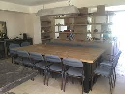 table style industriel avec rallonges collection et table de salle