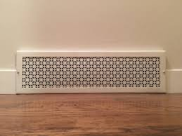 Decorative Wall Air Return Grilles by Diy Air Return Vent Youtube