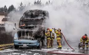 100 Rainier Truck And Trailer Semi Trailer Truck Fire In Tacoma Tacoma News Tribune