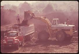 100 Used Trucks In Ohio FileCOAL COMPANY EQUIPMENT IS USED TO LOAD TRUCKS AT A STRIP MINING