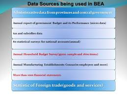 Bea National Economic Accounts Bureau Of Statistical Center Of Bureau Of Economic Accounts Bea Ppt