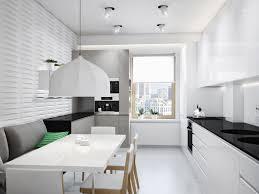 Best Floor For Kitchen Diner by Black White Kitchen Diner Interior Design Ideas