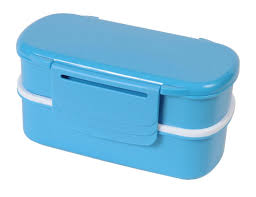 Polar Gear 3 Compartment Bento Lunch Box With Ice Pack Turquoise Blue