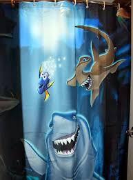 Finding Nemo Bathroom Shower Curtain For Kids