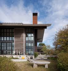 100 Olsen Kundig Olson Creates Wooden Home On Washington Archipelago