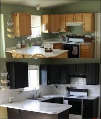 renovation cuisine bois cuisine noir et bois gallery of free cuisine blanche et bois