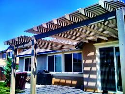 Alumawood Patio Covers Riverside Ca by Southern California Patios Open Lattice Patio Cover