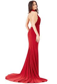 halter neck fishtail maxi dress red halter neck fishtail maxi