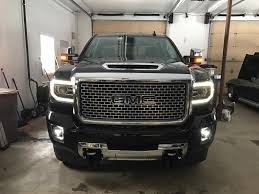 100 Gm Trucks Forum 2017 GMC Sierra 3500 Denali With 1500 LED Lights 20152019