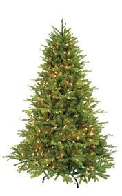 Artificial Balsam Fir Christmas Tree Ft It With Clear Lights Pre