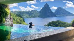 100 Jade Mountain JE2 Sanctuary Room Tour At Resort St Lucia