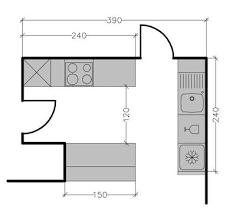 schema cuisine 8 plans de cuisine américaine avec un bar côté maison