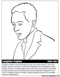 Free Printable Black History Coloring Pages Month Printables