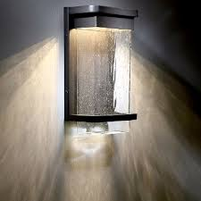 vitrine led indoor outdoor wall sconce by modern forms at lumens