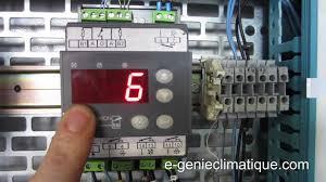 chambre froide positive metro froid83 régulateur mr4 fonctionnement et paramétrages chambre