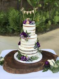 Buttercream Roses Vintage Modern Cake Purple And Gold Wedding Cakes Leaf Two