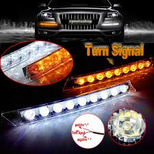 Audi Style 9 LED Daytime Running Light DRL Fog Lamp Day Lights ... 5pcs Amber Led Cab Roof Top Marker Running Lights For Truck Black Led Lighting Fancy Driving Trucks 2016 Gmc Sierra Shows Off Its New Face Aoevolution Dodge Ram 3500 Vw Atlas Tanoak Pickup Teases Honda Ridgeline Rival Slashgear Drl Daytime Light Toyota Hilux 52018 Fog Lamp Itimo 60 6 In 1 Reversing Brake 4 Pin Cnection Tailgate Bar Recon 264227amclx Extra Air Dam Automotive Household Trailer Rv Bulbs Parts Accsories Caridcom Ford F350 Super Duty Questions Need To Locate The Fuse That How Wire Dual Function Running Lights Into Your 2015 Style