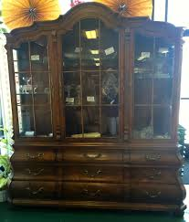 Henredon Walnut China Cabinet by I Have The Whole Collection Of Henredon Villandry Collection