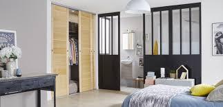 separation de chambre une séparation de style loft pour la chambre leroy merlin