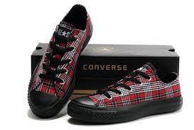 converse all plaid best converse all low black plaid