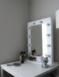Hollywood Mirror Ikea Medium Size Lighted Vanity Mirror Vanity
