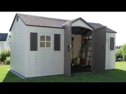 Rubbermaid Roughneck Medium Vertical Shed by Top 10 Best Garden Sheds Heavy Com