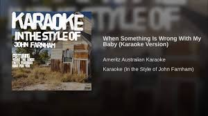 When Something Is Wrong With My Baby (Karaoke Version) - YouTube Everything That Happened At The 30th Aria Awards Worth Knowing Inside 2016 Aria Alaide Now Jimmy Barnes Hell Of A Time Flesh Wood Youtube Keith Urban Sing Flame Trees Live Sydney 3001 Crowded House Emotion Arias As Flume Wins Big Wikiwand David Campbell Youve Lost That Lovin Feelin Ft Herald Sun Live Review Playing It Forward John Farnham Annie Crummer Wikipedia Living Loud With A Freight Train Heart Sentinel Luca Roncadin And The Rhytm Blues Band When Something Is Wrong
