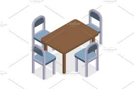 Chair And Table Isometric Design. Cafe Furniture ~ Graphic ... Restaurant Fniture In Alaide Tables And Chairs Cafe Fniture Projects Harrows Nz Stackable Caf Widest Range 2 Years Warranty Nextrend Western Fast Food Cafe Chairs Negoating Tables 35x Colourful Gecko Shell Ding Newtown Powys Stock Photo 24 Round Metal Inoutdoor Table Set With Due Bistro Chair Table Brunner Uk Pink Pool Design For Cafes Modern Background