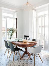 Look We Love Traditional Table Plus Modern Chairs