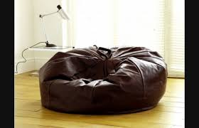 Top Leather Bean Bag