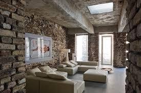 industrial style living room area interior design ideas